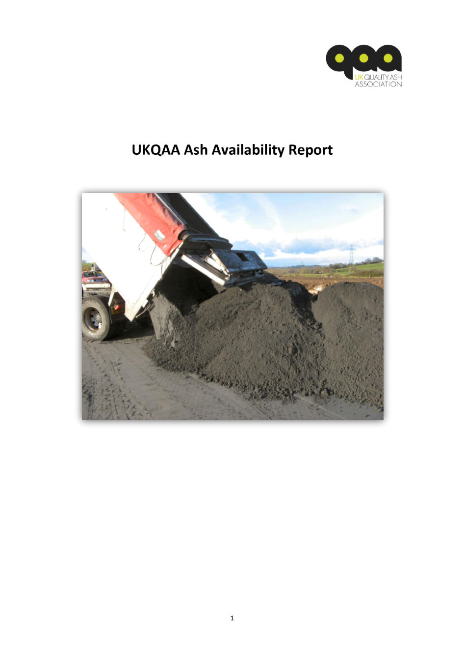 UKQAA Ash Availability Report